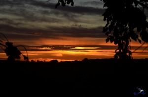 Sonnenaufgang in Angeln.Immer wieder schön