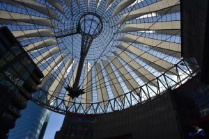 berlin sony center dach