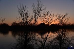 Sonnenuntergang Lindaunis