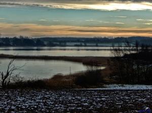 Norderhaken im Winter