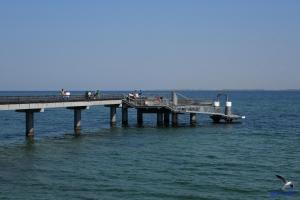 Seebrücke in Heiligenhafen