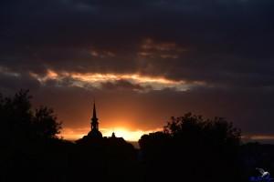 St. Nikolai im Abendlicht